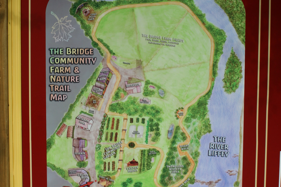 Map of  Kilcullen Farm & Nature Trail